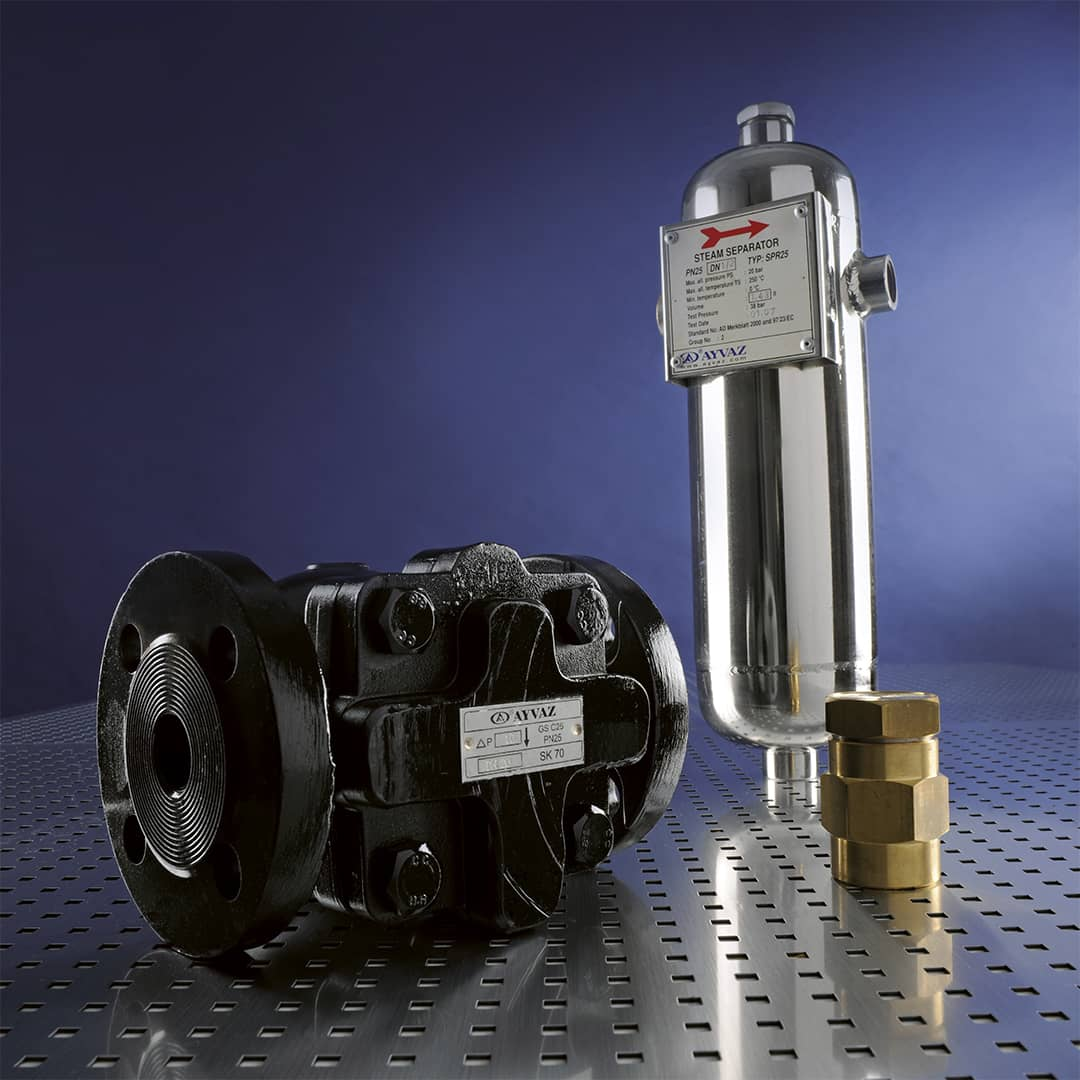 Equipements vapeur - Purgeurs vapeur - Détendeurs vapeur